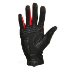SAHOO 42890 Unisex Cycling Riding Warm Full-Finger Touch Screen Gloves - Black + Red (XXL / Pair)
