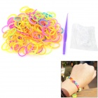 DIY Silicone Rubber Bands for Children - Multi-Color (200 PCS)