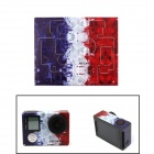 NEOPINE G-762 France Flag 108C Sticker for GoPro Hero 4 Silver Camera - Red + White + Multicolor