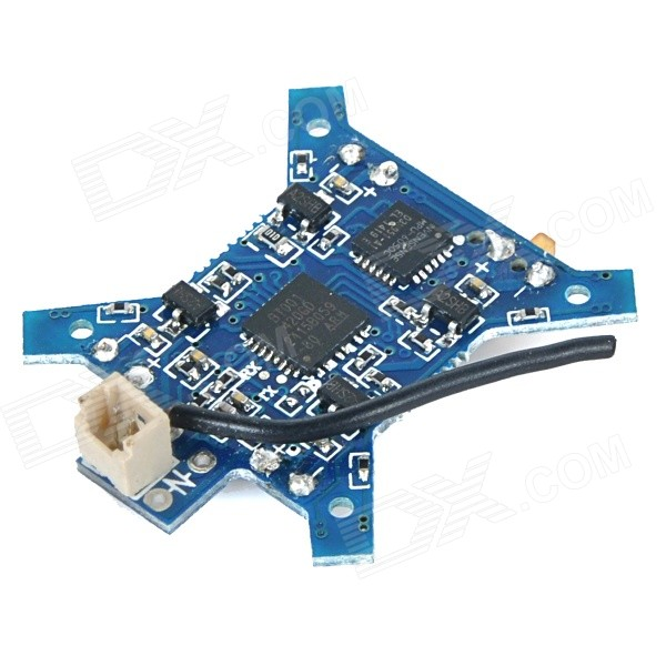 H1-05 Replacement Receiver Board Module for LH-H1 Quadcopter Aifcraft - Deep Blue f09166 10 10pcs cx 20 007 receiver board for cheerson cx 20 cx20 rc quadcopter parts
