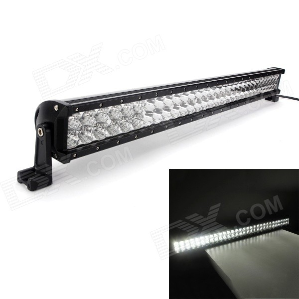 MZ 180W 15300LM 6000K LED White Flood + Spot Beam Worklight Bar w/ Lens foxstar 36w led work light offroad 4x4 off road light bar for atv suv truck boat spot flood combo beam 2880lm universal