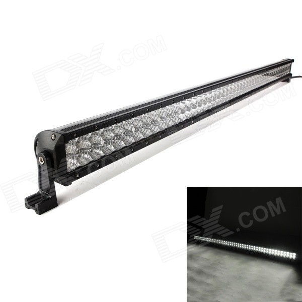 MZ 288W 24480LM 6000K LED White Flood + Spot Beam Worklight Bar w/ Lens foxstar 36w led work light offroad 4x4 off road light bar for atv suv truck boat spot flood combo beam 2880lm universal