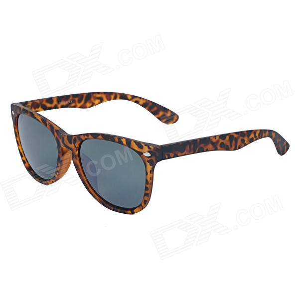 OREKA OR14014 UV400 Protection PC Sunglasses - Tortoiseshell - DXSunglasses<br>100% UV protection; Eliminates harmful ultraviolet light and reflected light; Scratch resistant good clarity; Suitable for daily wearing driving decorated with clothing and outdoor activities<br>
