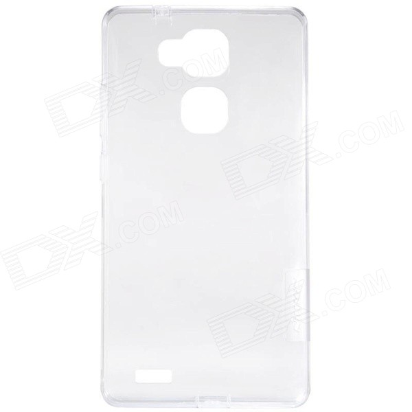 NILLKIN Ultra-thin Protective TPU Back Cover Case for HUAWEI Ascend Mate 7 - White tpu imd patterned gel cover for iphone 7 4 7 inch dream catcher