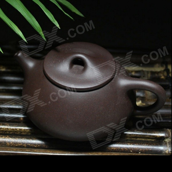 Handmade Yixing Purple Clay Teapot - Black (220ML)