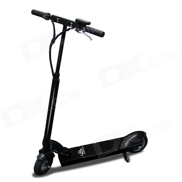 Aidian H50 Folding Portable Convenient Powerful Aluminum Alloy Electric Kick Scooter - Black lithium battery 36v 12ah 350w electric bike battery 36v with 42v 2a charger 15a bms 36v e bike battery pack free shipping