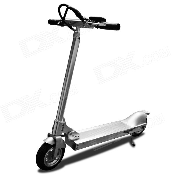 Aidian H50 Folding Portable Convenient Powerful Aluminum Alloy Electric Kick Scooter - Silver lithium battery 36v 12ah 350w electric bike battery 36v with 42v 2a charger 15a bms 36v e bike battery pack free shipping