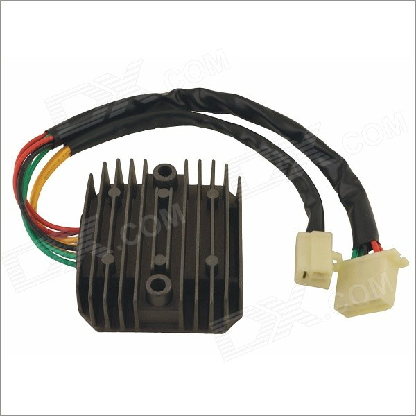 YHC SH572A-12 Motorbike Motorcycle Voltage Rectifier Regulator Spare Part - Dark Grey