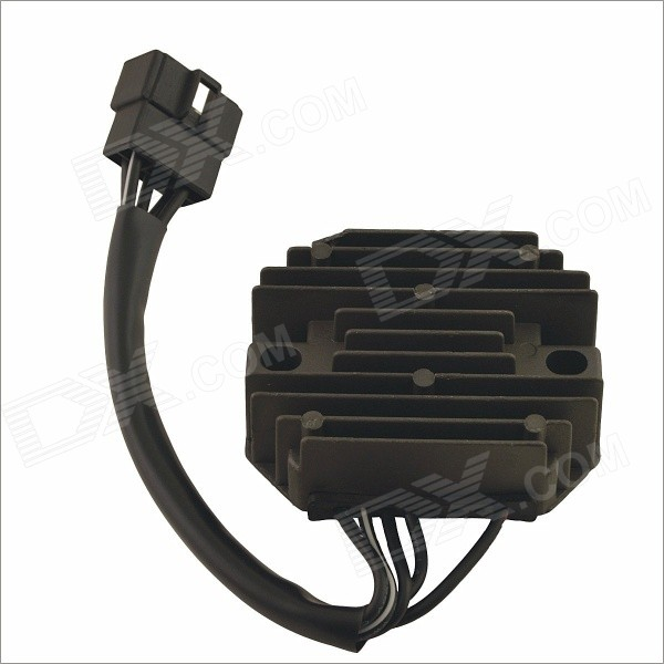 YHC- 010 Motorbike Motorcycle Voltage Rectifier Regulator Spare Part - Dark Grey + Black hot sell 50pcs 125khz pvc rfid waterproof proximity contactless cards in access control with em chip