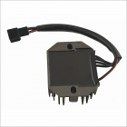YHC- 010 Motorbike Motorcycle Voltage Rectifier Regulator Spare Part - Dark Grey + Black