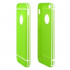 Hat-Prince Protective TPU Back Case with Detachable Plastic Frame for IPHONE 6 PLUS - Green