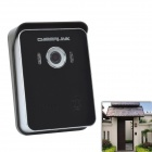 CHEERLINK K6 Wired + Wireless CMOS Visual Doorbell w/ 6-IR-LED for Android Phone / IPHONE (EU Plug)