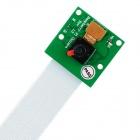 Waveshare 5.0MP OV5647 Lens Camera Board para Raspberry Pi A / B / B + - Verde + Preto