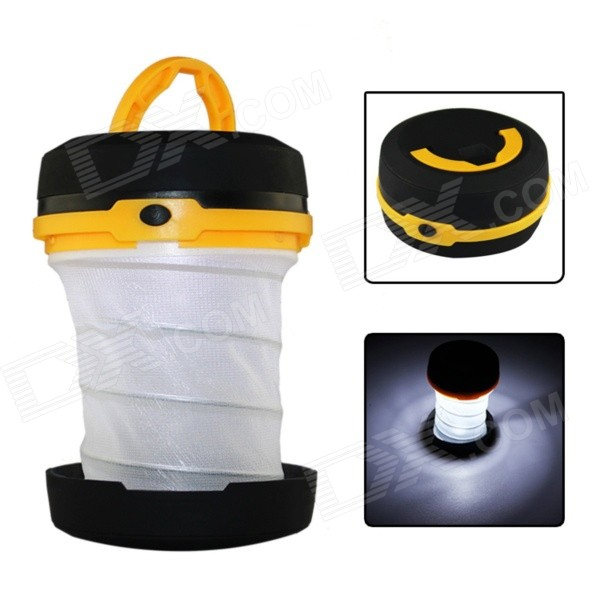 115lm 3-mode Cool White LED Outdoor Camping Folding Mini Portable Emergency Lamp