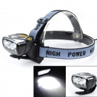 Buy Marsing High Power 6 x 3535 Cold White 3-Mode 3000lm LED Bike Light / Headlamp (4 18650)