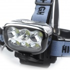 Marsing High Power 6 x 3535 Cool White 3000lm 3-Mode LED Bike Light / Farol (4 x 18650)