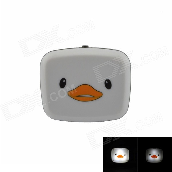 Little Duck Style G4 0.1W 21lm 2-mode LED Switch Night-light - White + Black