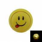 Smile Face Style Intelligent Light Control G4 0.1W 21lm Night-light - Yellow + Red (US Plug)