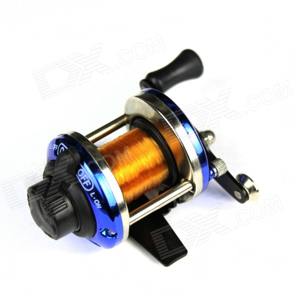 stainless-steel-spinning-fishing-reel-w-nylon-line-gold-silver-blue