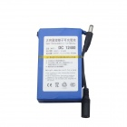 RQ DC 12400 4000mAh Super Rechargeable Polymer Lithium-ion Battery - Blue + Black