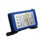 RQ DC 12400 4000mAh Rechargeable Polymer Li-ion Battery - Blue + Black