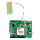 Geeetech Updated GPRS/GSM SIM900 Shield V2.0 Compatible with Arduino - Green