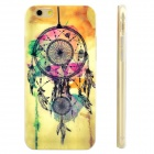 "Dream-catcher Pattern Protective TPU Case for 4.7"" IPHONE 6 - Yellow + Red"