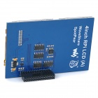 "Waveshare Replacement 4"" LCD Touch Screen Module para Raspberry Pi Modelo B / B + - Azul"