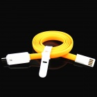 PZ-56 USB Male to Micro USB Male Charging & Sync Cable w/ LED Indicator - Orange (100cm)