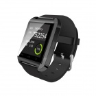 "Uwatch U8 Plus 1.44"" Smart Watch Phone w/ Bluetooth, Pedometer - Black"