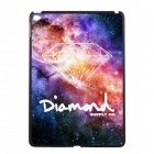 Elonbo Beautiful Diamond Pattern Plastic Hard Back Case Cover for IPAD AIR 2