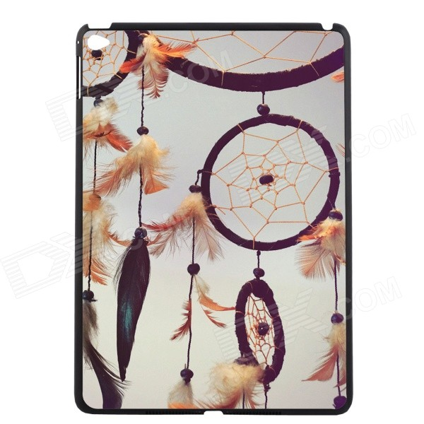 Elonbo Feather Dreamcatcher Pattern Plastic Hard Back Case Cover for IPAD AIR 2 colorized feather metal skin hard cover case for iphone 5c