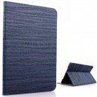 Mr.northjoe Protective PU Leather + PC Case w/ Stand / Auto Sleep for IPAD AIR 2 - Deep Blue