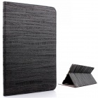 Mr.northjoe Protective PU Leather + PC Case w/ Stand / Auto Sleep for IPAD AIR 2 - Black
