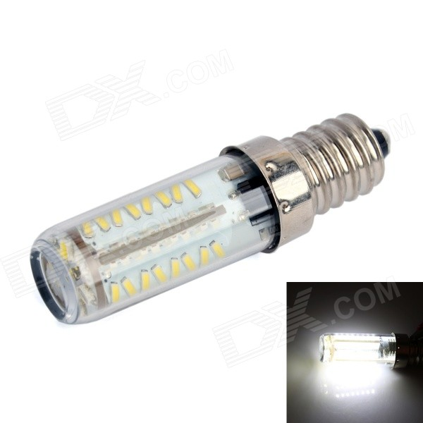 GC E14 3W 190LM 6000K 70x3014 SMD LED White Light Corn Bulb (AC 200-240V) gc e14 3w 170lm 3000k 64 3014 smd led warm white light corn bulb ac 90 240v