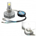 Merdia H2 2-COB LED 15W 1650LM 6500K White Light High-Low Beam Headlight for Motorcycle