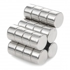 8 x 4.8mm Cylindrical NdFeB Magnet - Silver (20PCS)