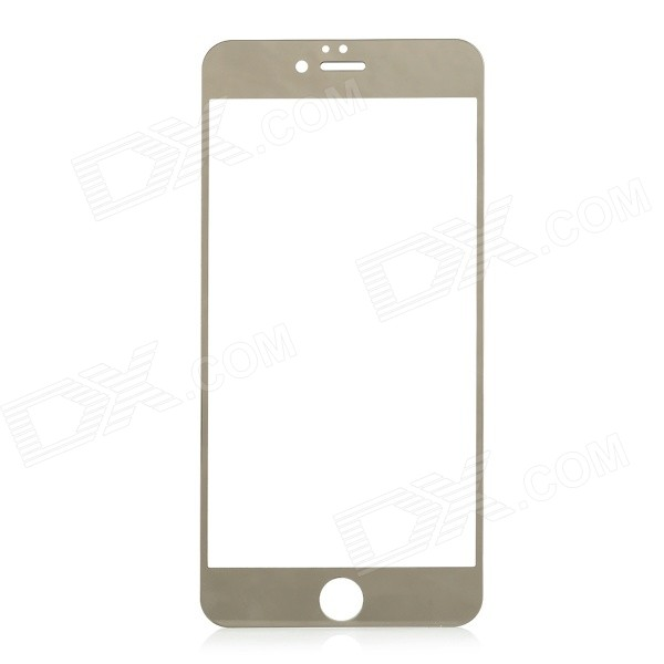 Protective 0.3mm Ultra-Slim Electroplating 2.5D Front Panel Sticker for IPHONE 6 PLUS
