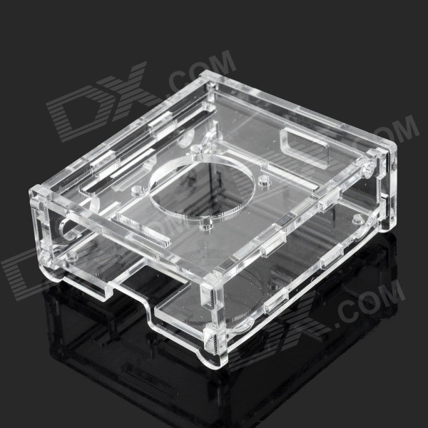 Protective Acrylic Shell Case for Raspberry Pi A+ - Transparent