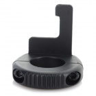 ABS Adapter Fixing Ring for GoPro Hero 4 / 3+ / 3 / 2 / 1 Remote Control - Black