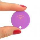 Rtrivr Bluetooth V4.1 Smart Reminder Keyfinder / Remote Shutter for IPHONE and Android - Purple