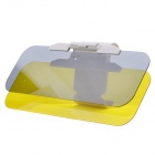 NEJE Car Sun Visor Clip Day / Night Sunshade - Yellow + Grey