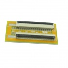 FFC 0.5mm Pitch 50pin Adapter Plate Docking Board - Yellow