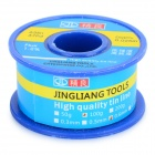 JingLiang 0.6mm Active Tin Soldering Wire - Silver + Blue + Multi-Color (100g)