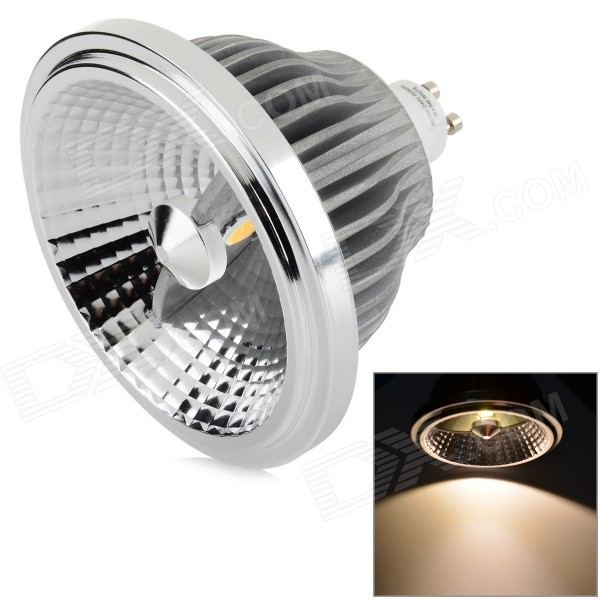 YouOkLight 13W GU10 810LM 3200K 2-COB Warm White Light Spotlight - Silver + Grey (AC 100~240V) youoklight 8w 485lm 3500k 1 cob led warm