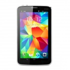 """P380 7 """"Android 4.2.2 Dual-Core GSM Tablet PC w / 4GB ROM, Doppel-SIM, GPS - Schwarz + Silber"""