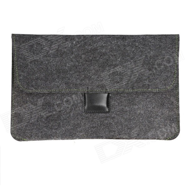 OUSHINE Ultra-Slim Protective Felt Sleeve Bag Pouch for 15 MACBOOK PRO Retina - Black купить