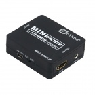 oTime HDMI 1.4 to HDMI + Audio Repeater w/ 4K DTS / AC3 DTS-HD - Black