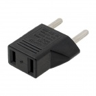 Dual-Slot Car Charger w/ EU Adapter for SJ4000 - Black (US Plug)