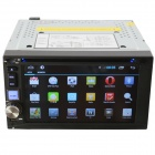 Lecteur DVD Android 4.2 Universal 2 din voiture w / navigation GPS , OBD II , Wi- Fi, 3G - Noir